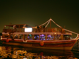 Abu Dhabi dhow cruise