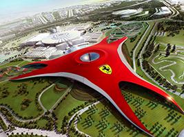 Ferrari World Yas Island Tour