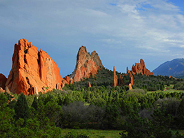 Garden of the Gods and Foothills Jeep Tour