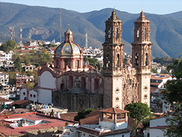 Colonial City of Taxco Tour