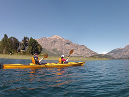 Kayaking in Bariloche - Private