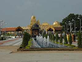 Excursion to Golden Temple of Sripuram in Vellore - Private