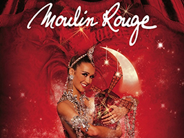 Dinner and Show at the Moulin Rouge with pick up at hotel