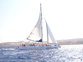 Aqua catamaran cruise