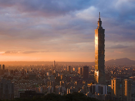 Modern and historical Taipei tour - private