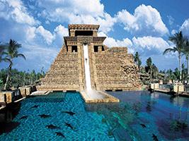 Atlantis Aqua Park and the Lost Chambers Aquarium