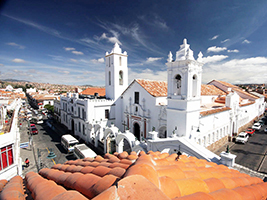 Sucre panoramic city tour  - private