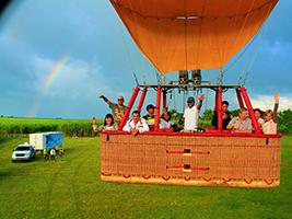 Balloon ride over Punta Cana