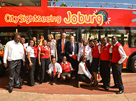 City Sightseeing Johannesburg hop on hop off