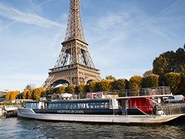 Parisian breakfast cruise