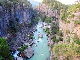 Visit Köprülü Canyon National Park