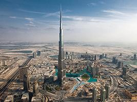 Burj Khalifa Tour and Musical Fountains