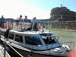Rome Bus and Boat Tour
