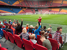 Arena Stadium Tour and Canal Cruise.