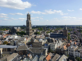 Utrecht walking tour in Spanish - private