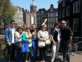 Amsterdam walking tour in Spanish - private
