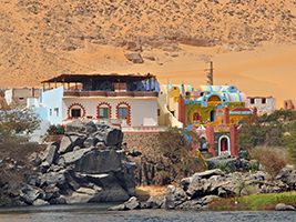 Nubian village tour by boat - private