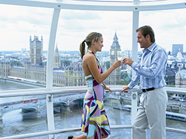 24 Hour River Cruise and Coca-Cola London Eye