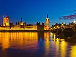 Christmas Offer: Illuminated London Tour in Spanish