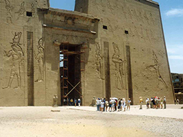 Aswan by bus via Edfy & Kom Ombo temples