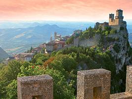 San Marino in Russian - Rimini