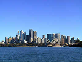 City, Harbour & Bondi Beach with Captain Cook Seafood Luncheon Cruise
