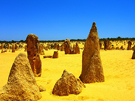 Pinnacles Desert with New Norcia