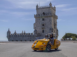 GPS Guided Go Car Tour: Belem Route
