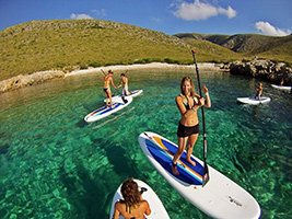 Introduction to Paddle Surf in Alcudia