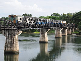 Full Day River Kwai Adventure with lunch and transport