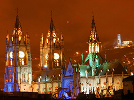 Quito by Night & Gastronomic with dinner.