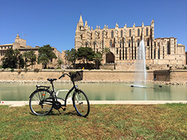 Bicycle Tour Palma old town and Castillo Bellver