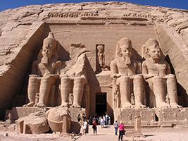 Luxor flight from Sharm el Sheik