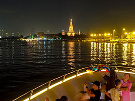 Entrada All In One Day Pack: Royal Grand Palace And Dinner Cruise With White Orchid River Cruise
