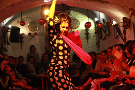 Flamenco Show at the Caves of the Tarantos with drink