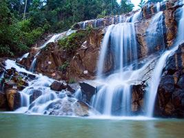 Half Day Panching Caves and Pandan Waterfalls