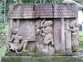 Full Day Sukuh Erotic Temple