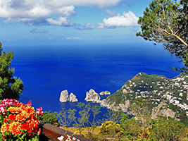 Capri Island with pick up from hotel