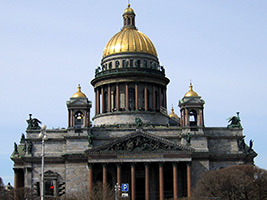 St. Petersburg City Tour and St. Savior