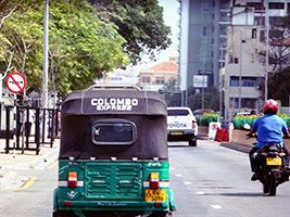 Colombo by Tuk Tuk