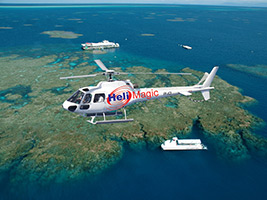 Great Barrier Reef with Reef Magic Cruises  with 10 Minute Scenic Helicopter Flight