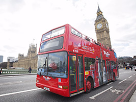 Special Discount Offer: 48 Hour Hop on - Hop off London Sightseeing Tour + 1 Free Activity