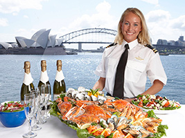 Seafood Buffet Lunch Cruise at Sydney Harbour