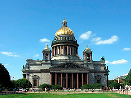 Private City Tour and St Isaak Cathedral Visit