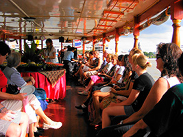Half Day Rice Barge Tour - Ticket Only