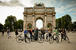 Bike Tour and Louvre Museum