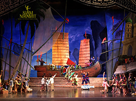 Evening Siam Niramit Show Bangkok - Ticket Only