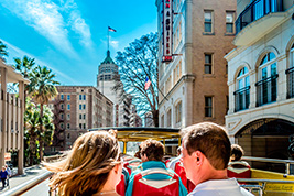 River Walk Cruise and City Sightseeing - Hop on Hop off Tour