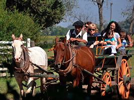 Gaucho Day Trip to Santa Susana Ranch