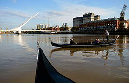 Gondola Ride in Puerto Madero with transfer